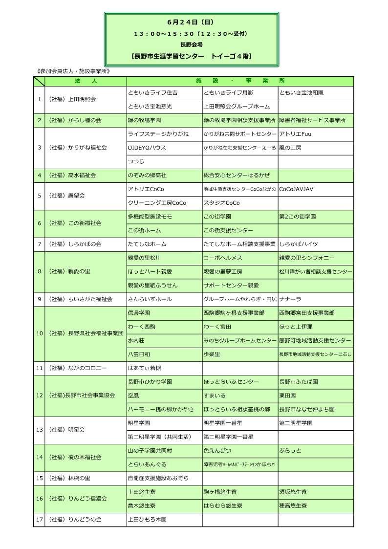 マッチング参加法人・施設事業所一覧_1
